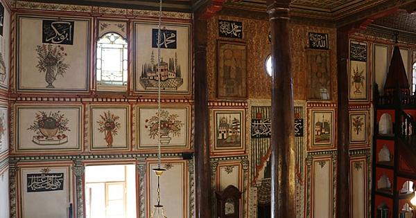 Acıpayam'da 217 Yıllık Cami'nin Motifleri  İlgi Çekiyor