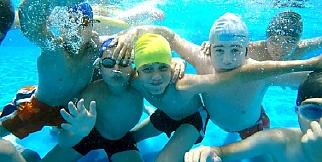 Denizlili çocukların keyfi yerinde