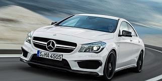 Mercedes CLA 45 AMG gün ışığına çıktı