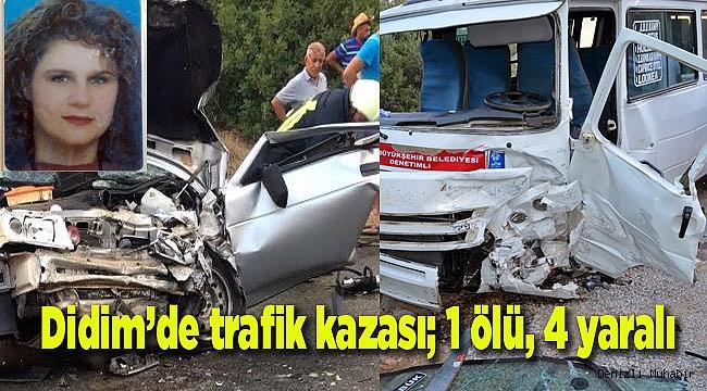 Didim De Trafik Kazasi 1 Olu 4 Yarali Asayis Denizli