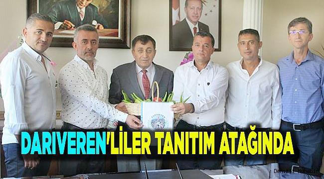 DARIVEREN'LİLER TANITIM ATAĞINDA