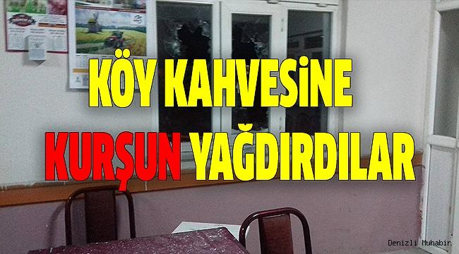 ÇİVRİL'DE KAHVEHANE KURŞUNLANDI