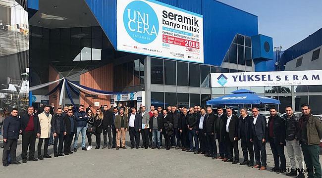 DTO ÜYELERİ, UNICERA FUARI'NDA