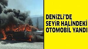 MOTOR KISMI BİRANDA ALEV ALDI