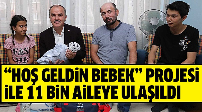 PAMUKKALE BELEDİYESİ'NDEN AİLELERE MANEVİ DESTEK