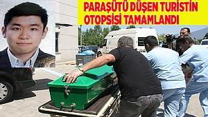 Yamaç paraşütü kazasında ölen Koreli turistin otopsisi tamamlandı