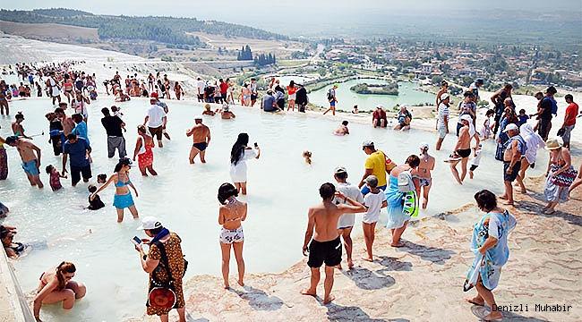 Pamukkale'de hedef 5 milyon ziyaretçi