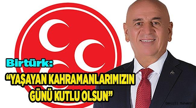 """""""YAŞAYAN KAHRAMANLARIMIZIN GÜNÜ KUTLU OLSUN"""""""