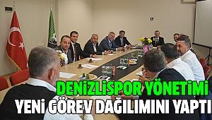 DENİZLİSPOR'DA YENİ GÖREVLER BELLİ OLDU
