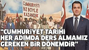 EKREM BAŞER'DEN 29 EKİM KUTLAMA MESAJI...