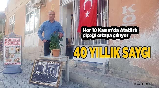 40 YILLIK SAYGI