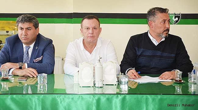 Başkan Ali Çetin Kulüp Personeli İle Toplantı Yaptı