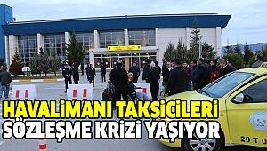 DENİZLİ ÇARDAK HAVALİMANI'NDAKİ TAKSİ SORUNU