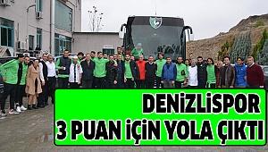 DENİZLİSPOR 3 PUAN İÇİN YOLA ÇIKTI