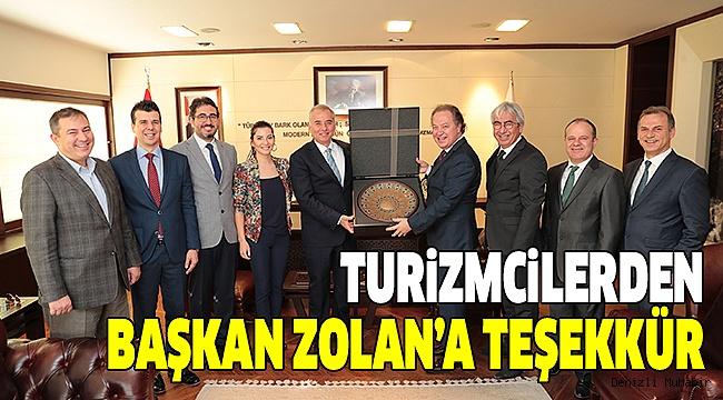 DENTUROD ÜYELERİ BAŞKAN ZOLAN'I ZİYARET ETTİ
