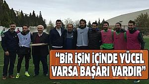 GÜNGÖR DENİZLİSPOR'U ZİYARET ETTİ