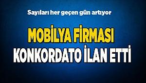 MOBİLYA FİRMASI KONKORDATO İLAN ETTİ