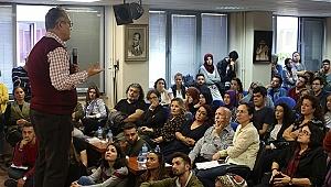 PROF. DR. ADIGÜZEL 'EĞİTİMDE YARATICI DRAMA'YI ANLATTI