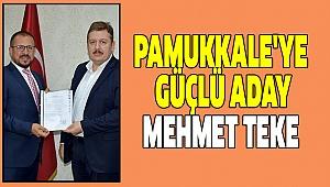 TEKE PAMUKKALE'YE TALİP