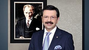 TOBB BAŞKANI HİSARCIKLIOĞLU, YARIN DENİZLİ'DE