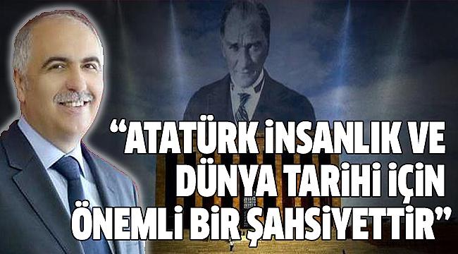 VALİ KARAHAN'DAN 10 KASIM MESAJI