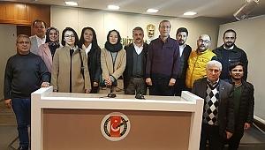 AK PARTİ'DEN DGC'YE ZİYARET