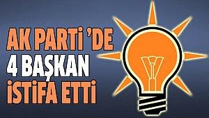 AK PARTİ DENİZLİ'DE İSTİFA