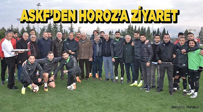 ASKF'DEN HOROZ'A ZİYARET