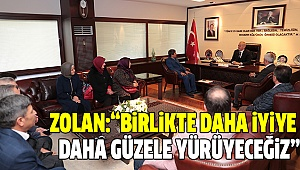 BAŞKAN ZOLAN AFYONLULAR DERNEĞİ'Nİ AĞIRLADI