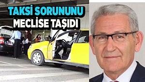 Çardak Havaalanında yaşanan taksi sorunu Meclis'e taşındı
