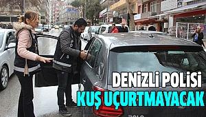 DENİZLİ POLİSİ YILBAŞINDA İŞ BAŞINDA