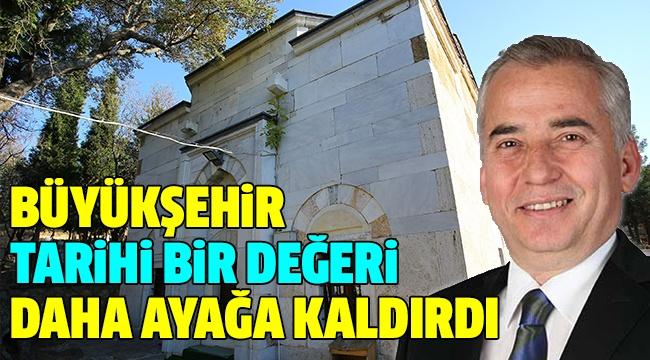 HÜSAMETTİN GAZİ BEY TÜRBESİ RESTORE EDİLDİ