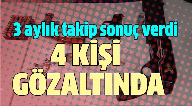 OPERASYONA ÖZEL HAREKAT POLİSLERİ DE KATILDI
