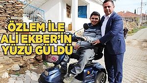 ÖZLEM İLE ALİ EKBER'İN YÜZÜ GÜLDÜ