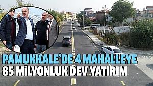 PAMUKKALE'DE ÜSTYAPI ATAĞINDA SONA GELİNDİ