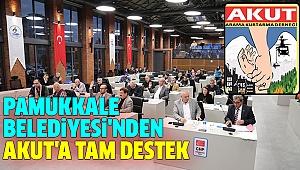 PAMUKKALE'DEN AKUT'A BİNA DESTEĞİ