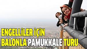 PAMUKKALE'DEN ENGELLİLERE ÖZEL ETKİNLİK