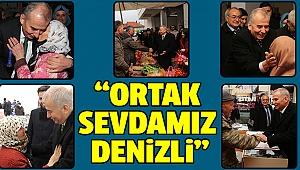 BAŞKAN ZOLAN'A BAKLAN'DA SEVGİ SELİ