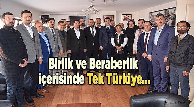Birlik ve Beraberlik içerisinde Tek Türkiye...