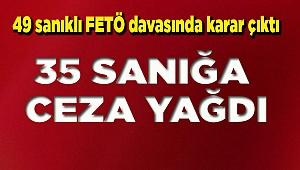 Denizli'de FETÖ'nün okullarına yönelik davada karar