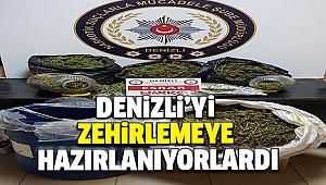 DENİZLİ'DE UYUŞTURUCU OPERASYONU