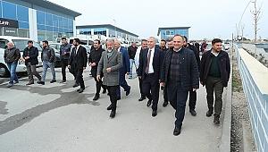 Başkan Osman Zolan'dan galericiler sitesine ziyaret