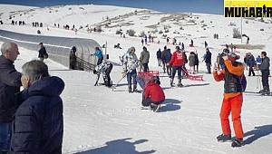 Bozdağ Kayak Merkezi Doldu Taştı