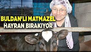BULDAN'LI MATMAZEL HAYRAN BIRAKIYOR