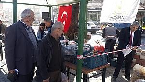 DENİZLİ'NİN İLK 'TANZİM ÇADIRI' KURULDU