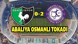 DENİZLİSPOR 0 - OSMANLISPOR 2