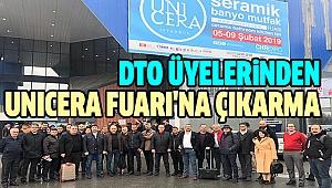 DTO 35 ÜYESİYLE İSTANBUL UNICERA'DA
