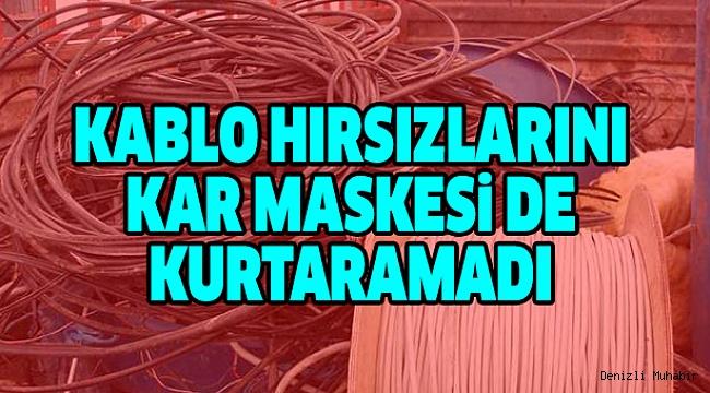 KABLO HIRSIZI 3 KİŞİ TUTUKLANDI