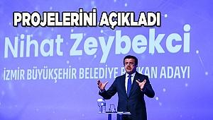 Nihat Zeybekci, projelerini tanıttı