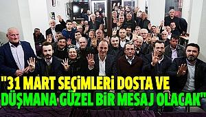 ÖRKİ MAHALLE MAHALLE DOLAŞIYOR